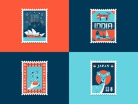 Travel Stamps Part 1