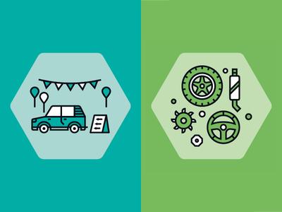 Car Icons 1
