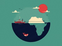 No 7 - The outrageous plan to haul icebergs to Africa