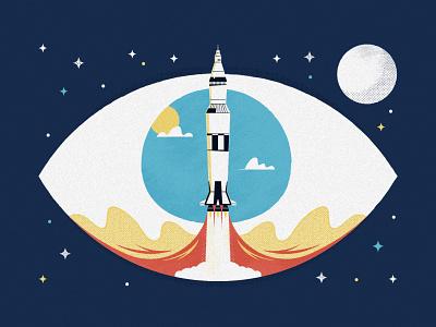 No 1 / The Memory Palace - Craning podcast space apollo the memory palace launch rocket moon apollo 11 editorial radiotopia nasa eye craning