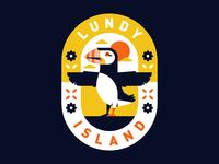 Lundy Island Badge