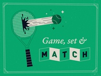 Game, set and match!