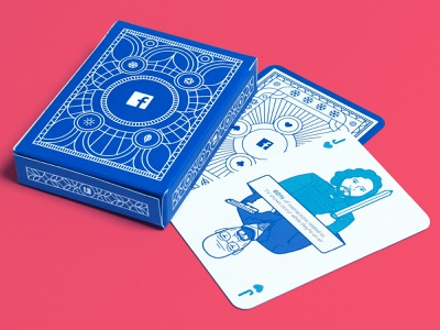 Deal me in! pattern face box card tv breaking bad game of thrones walter white jon snow facebook playing cards