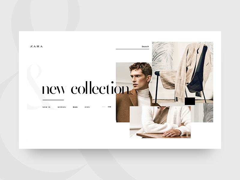 Zara New Collection By Alptekin Can On Dribbble