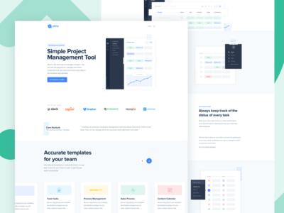 Atina new web design