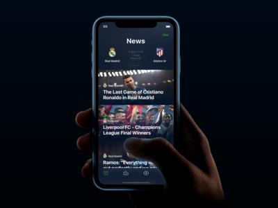 The Football - Mobile App