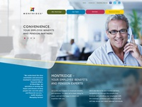 Montridge Homepage redesign