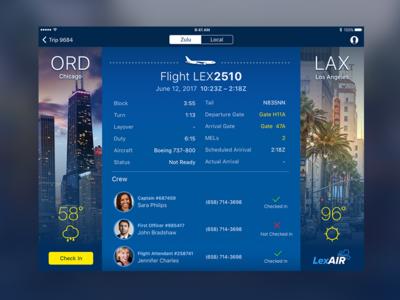 LexAir Flight Overview
