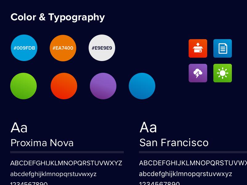 New Portfolio Site personal branding fonts colors portfolio