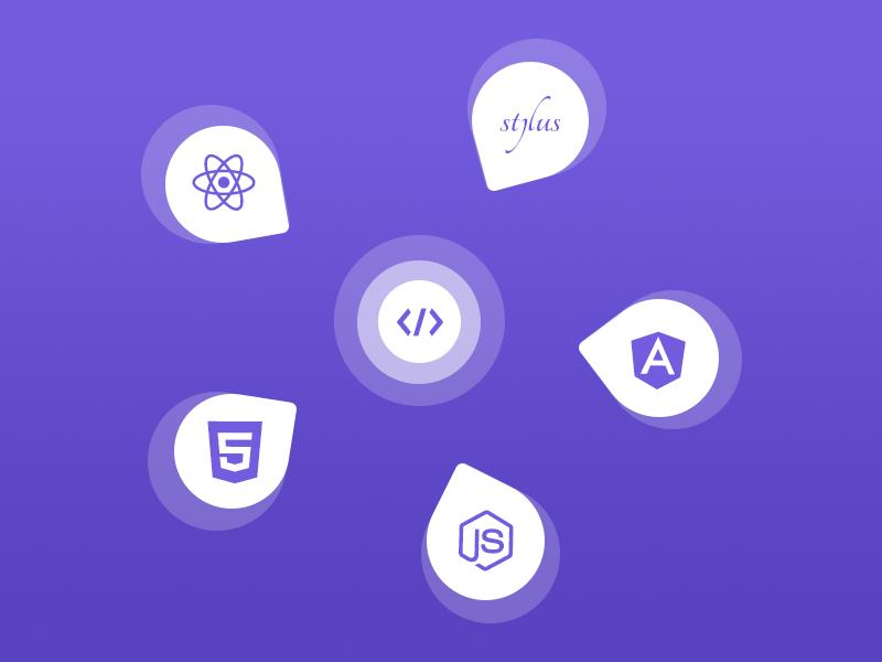 Top Tech Skills top skills html5 node angular react skills tech