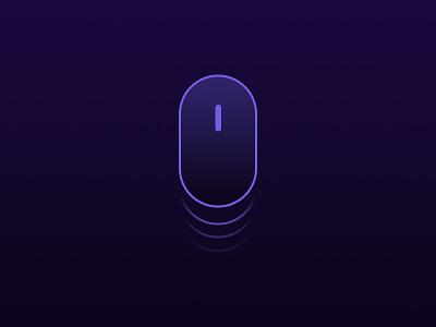 Mouse Scroll minimal futuristic scroll mouse