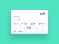 Minimal Credit Card