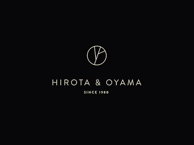 """""""Hirota & Oyama"""" Gastropub Logo retro vintage wordmark japan print typography gastropub japanese izakaya logo restaurant bar"""