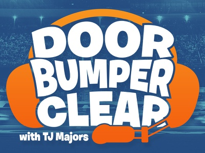 Door Bumper Clear Cover Art racing cover art podcast