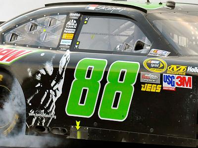 The Dark Knight Rises NASCAR the dark knight batman nascar