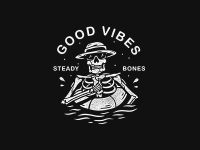 Good Vibes graphictee bandart bandmerch apparel merchdesign teesdesign appareldesign