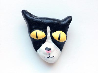 Handmade cat faces - Chilli