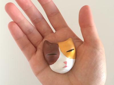 Handmade cat faces - Twinkie
