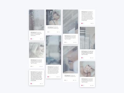Pinterest Masonry Grid