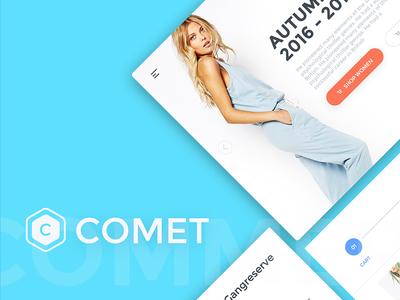 Comet Ecommerce UI Kit