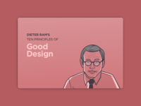 Dieter Ram's Ten Principles of Good Design