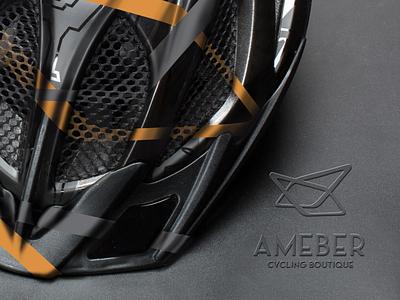 Ameber Cycling Boutique by Chicasa Manila, Inc. sports logo brand sports design tag design logomark logo brand identity logo design brand design branding