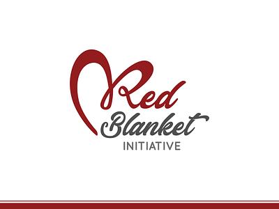 Red Blanket Initiative adobe xd adobe illustrator charity event nonprofit brand event poster advertisement poster design poster logomark brand identity logo design brand design branding logo