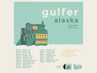 Gulfer - Tour poster