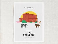 Poster - Le Petit Fermier