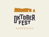 Oktobertfest Gaspésien - The Logo