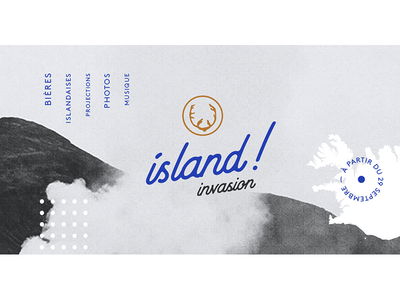 Pit Caribou's events - Island Invasion taptake event beer