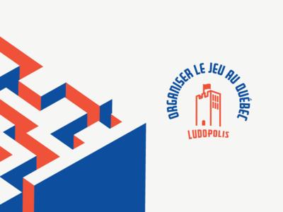 Ludopolis - Organiser le jeu au Québec flag maze gamification boardgame