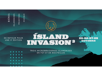 Pit Caribou's events - Island Invasion 3 taptake event beer