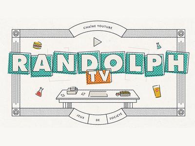 Randolph TV food pub beer cocktails tabletop channel youtube randolph board games