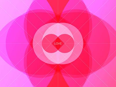 Love Illustration abstract heart love design shape illustration
