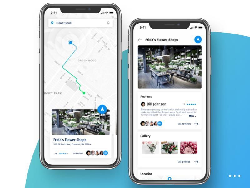 Navigation App Design