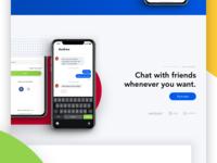 Messenger web site