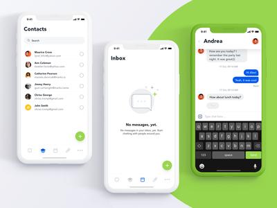 Messenger app (Concept)