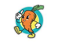 Carrot badge