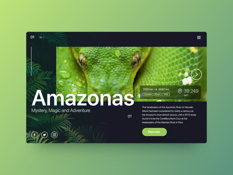 Daily UI Challenge - Poisonous