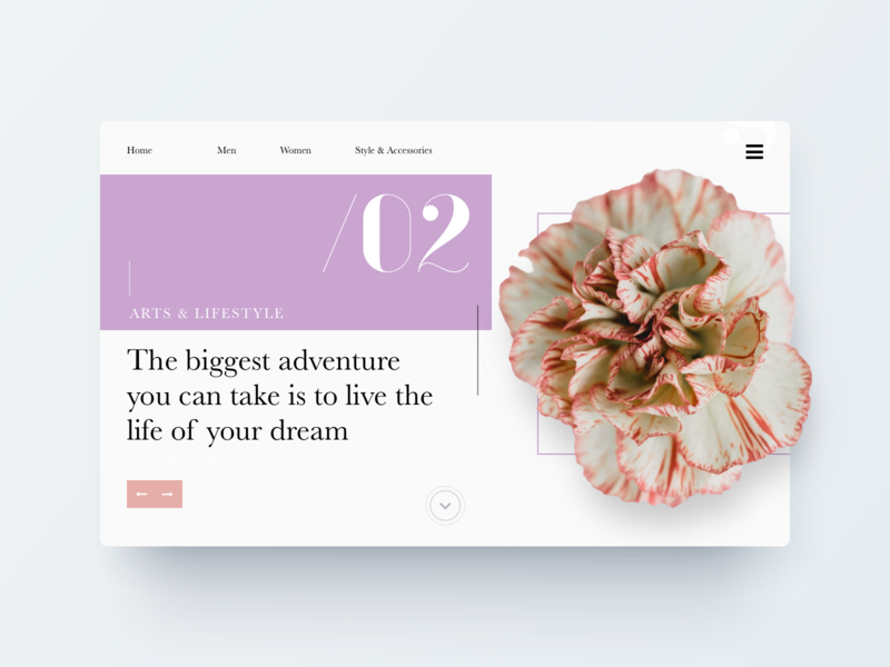 Daily UI Challenge -  Tranquil