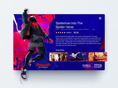 UI Card movie detail - Concept