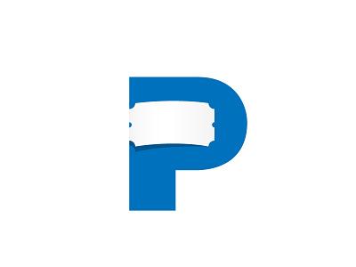 P Ticket (Rebound of P Ticket by by Jeroen van Eerden) logo p rebound