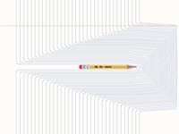 Pencil & Paper (Free .AI file).