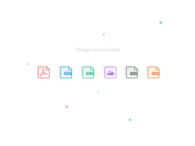 Filetype icons - Sketch Freebie