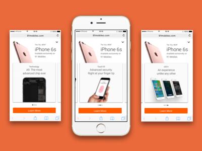 Fullscreen Interactive Mobile Ad