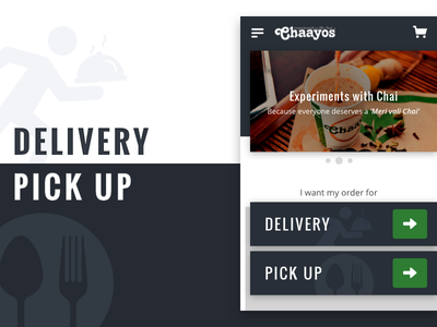 Concept: Chaayos Online Ordering Page ui dining homepage luxury order snacks breakfast pick up delivery food tea chaayos
