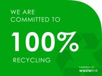 Zero waste certification badge