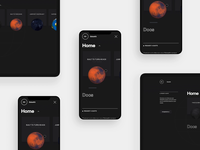 GlobeKit - Responsive Menus menu responsive mobile website webgl web design ux ui transition minimal layout interface interactive globe design clean animation