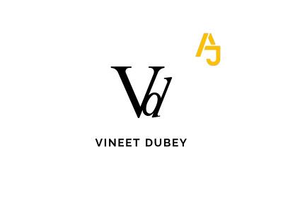 VD Typography Logo typography design vector logo illustration branding